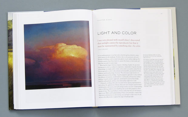 Landscape Painting book by Mitchell Albala