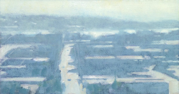"Plein Air ""Azure and Asphalt"" by Mitchell Albala"