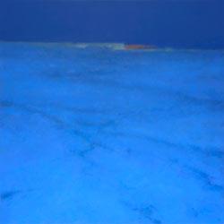 """Landscape painting """"Night Passage"""" by Mitchell Albala"""