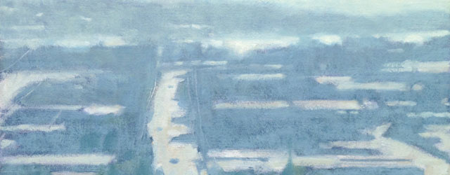 In plein air we attempt a form of direct translation. In the studio, we may recall our observations of nature, but are freer to be inventive with color.