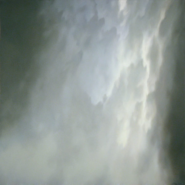 Veil Falls, oil on canvas, 30 x 30. Sold.