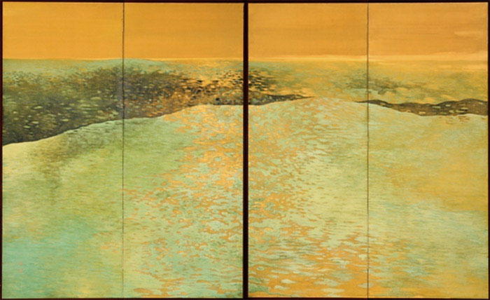 gold-metaphor-tsuji-kako-green-waves
